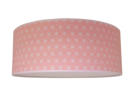 Plafonnière geometric pink