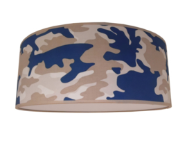 Plafonnière army blue