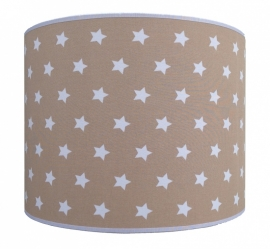 light brown - white stars big