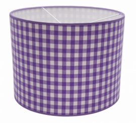 purple / white checkered medium