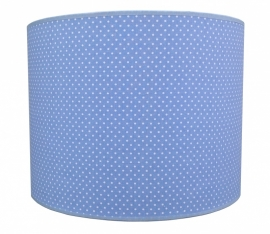 lightblue / white dotted small