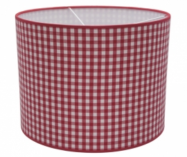 red / white checkered medium
