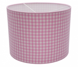pink / white checkered medium