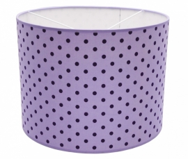 light purple / dark purple dotted medium