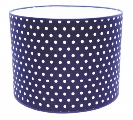 darkblue / white dotted medium