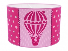 Hot air balloon pink