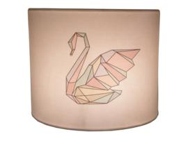 Wall-lamp magic swan