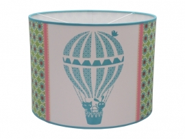 Hot air balloon retro