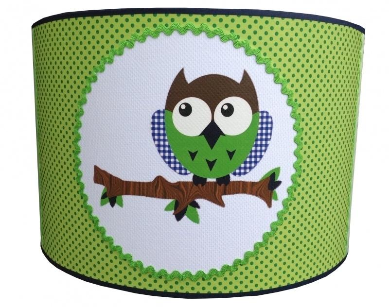 Happy owl appelgroen