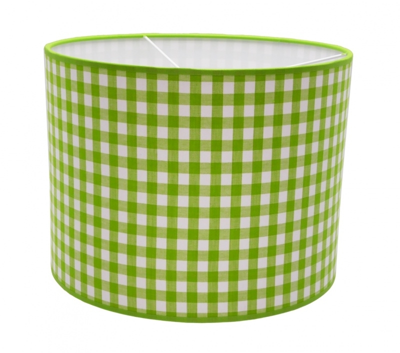 limegreen / white checkered medium