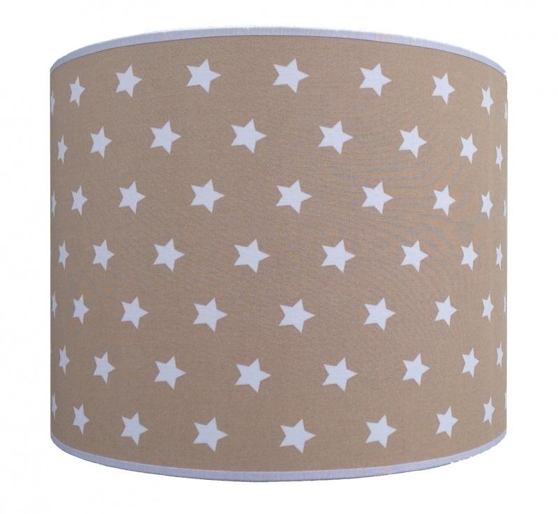 light brown - white stars big