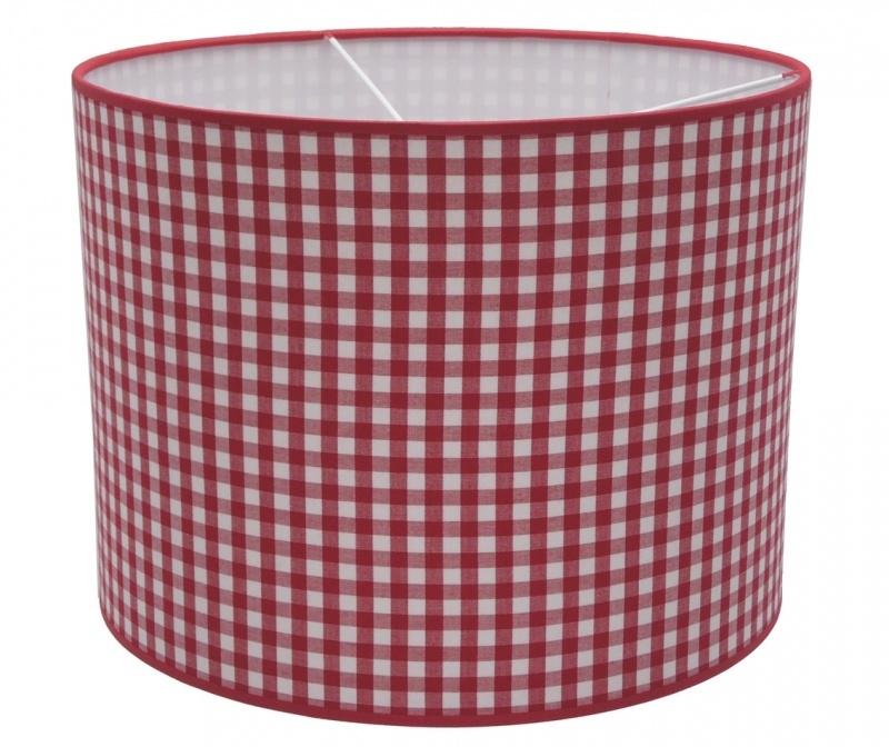 red / white checkered medium