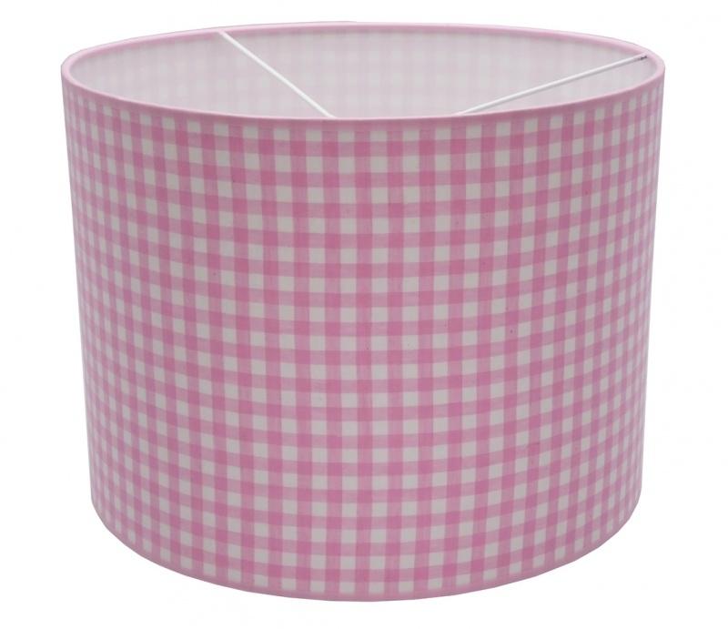 pink / white checkered medium