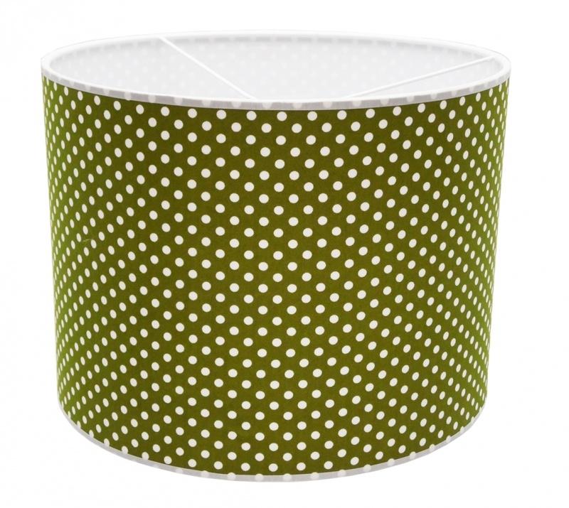 olivegreen / white dotted