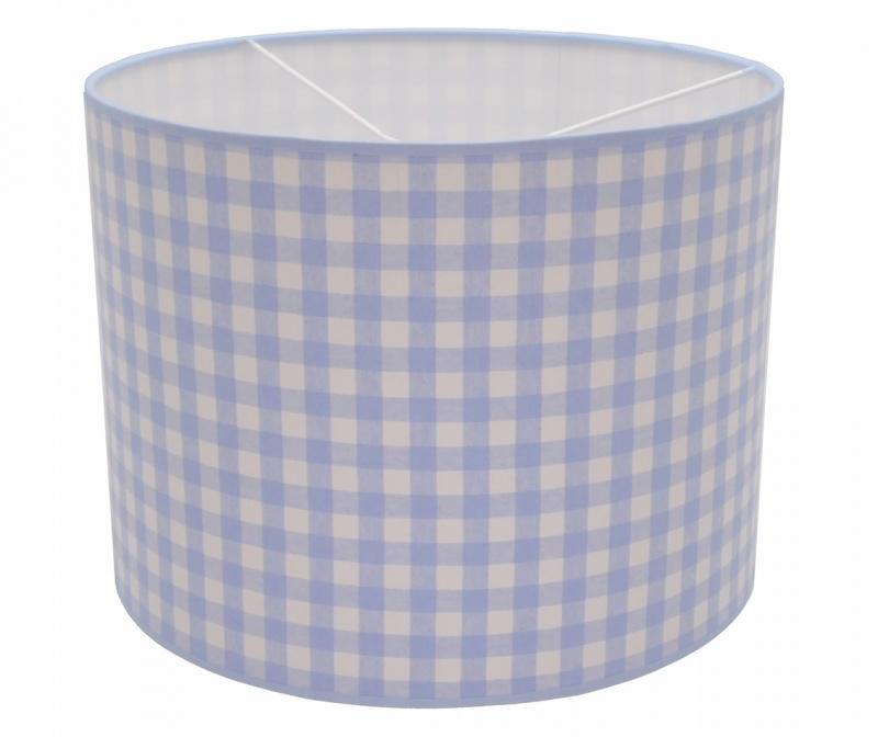 lightblue / white checkered medium