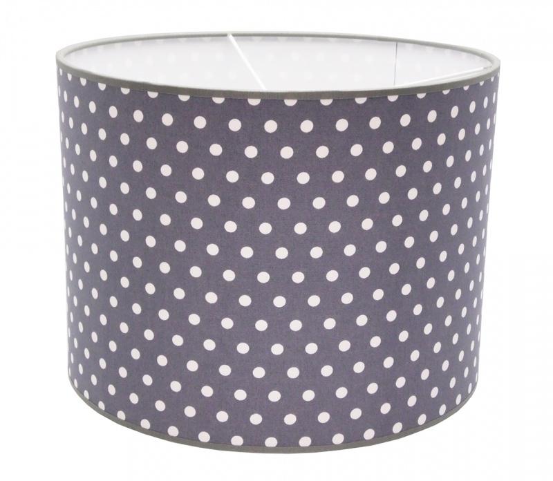 grey / white dotted medium