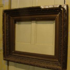 Lijst kader antiek decoratie goud brons 1850