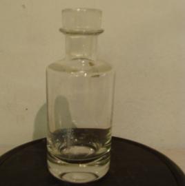 Karaf met stop glas stopfles 23 cm