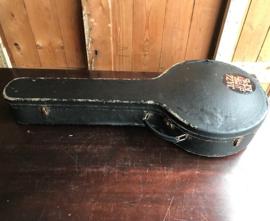 Banjo koffer zwart gitaarkoffer VERKOCHT