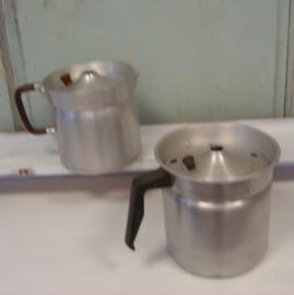 Kan koffie melk aluminium origineel