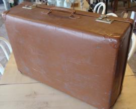 Koffer bruin 68 x 46 origineel