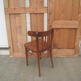 Eetkamer stoel cafe hout origineel beschadigd