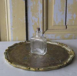 Parfum fles flesje glas USA origineel met dop