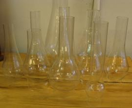 Glas olielamp diverse maten olielampglas