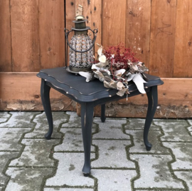 Bijzet tafel 35 x 36 x 29 cm grijs Queen Ann
