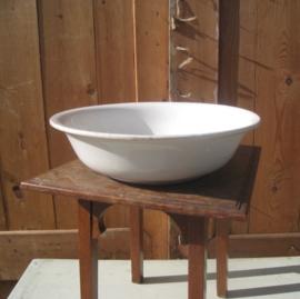Schaal waskom Boch creme wit diameter 29 cm