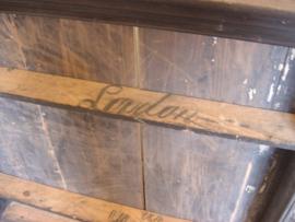 Wand rek schap borden hout brocante keuken Engeland origineel