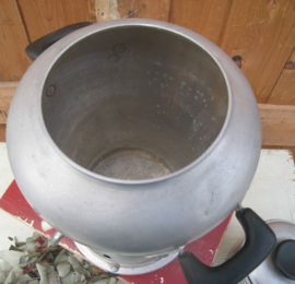 Samovar ketel theepot met brander 36 cm hoogte