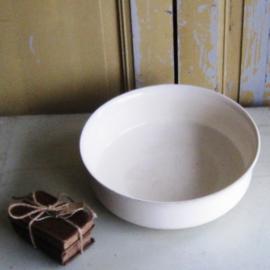 Schaal lampet creme diameter 35 cm