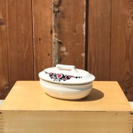 Zeep bakje met deksel Societe Ceramique Maestricht
