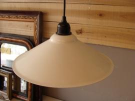 Hanglamp gang metaal origineel industrie lamp wit