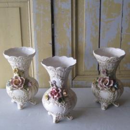 Vaas siervaas Italy Bassano bloem decoratie