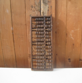 Telraam origineel hout 43 cm x 17 cm
