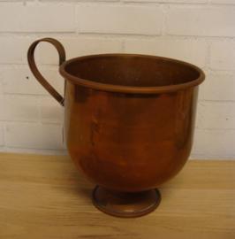 Pot ketel kan koper groot diameter 27 cm