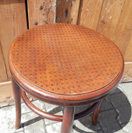 Kruk barkruk hout origineel 56 cm hoog