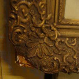 Lijst kader antiek decoratie goud brons