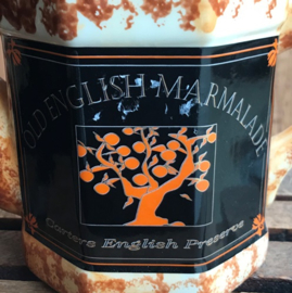 Theepot decoratie Old English Marmalade
