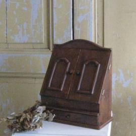 Postkast hout brievenkastje origineel VERKOCHT