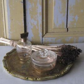 Parfum fles verstuiver glas