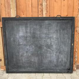 Krijtbord schoolbord 140 x 115 cm schrijf memo pub