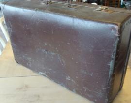 Koffer origineel bruin 70 x 42,5 VOCHTSCHADE