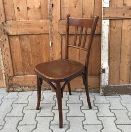 Eetkamer stoel cafe hout Frankrijk Tigre Bock