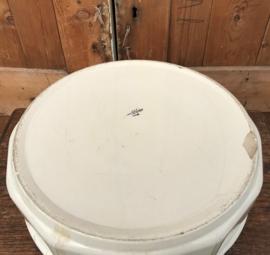 Schaal lampet creme diameter 40,5 Sarreguemines