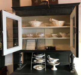 Buffetkast keuken servies kast grijs VERKOCHT