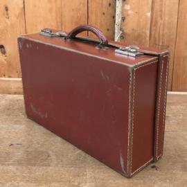 Koffer bruin 40,5 x 24 x 11,5 origineel