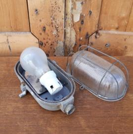 Bullseye lamp industrie gang wand kooi